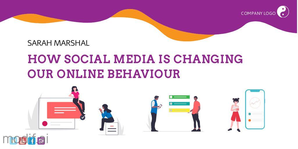 Online Behaviour Twitter Post