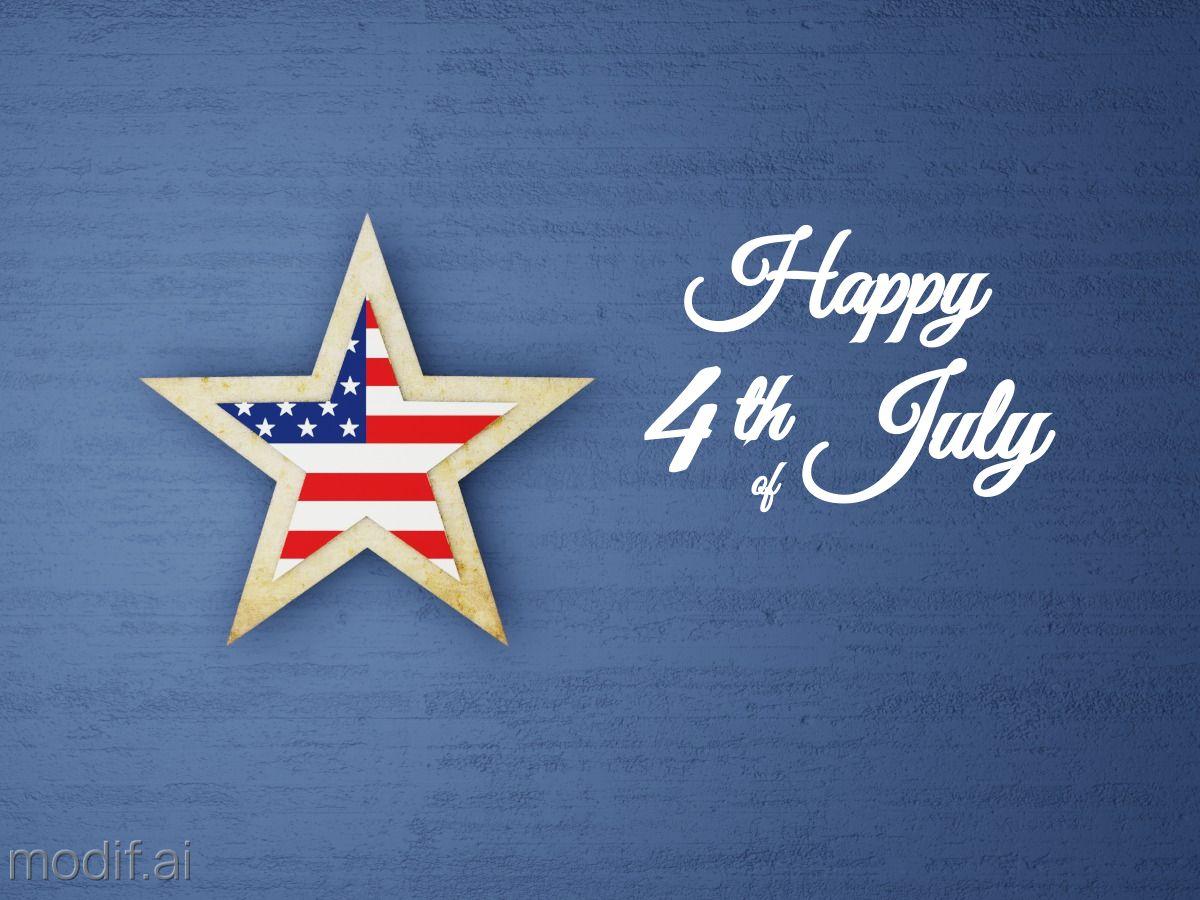 4th of July Greetings Facebook Post