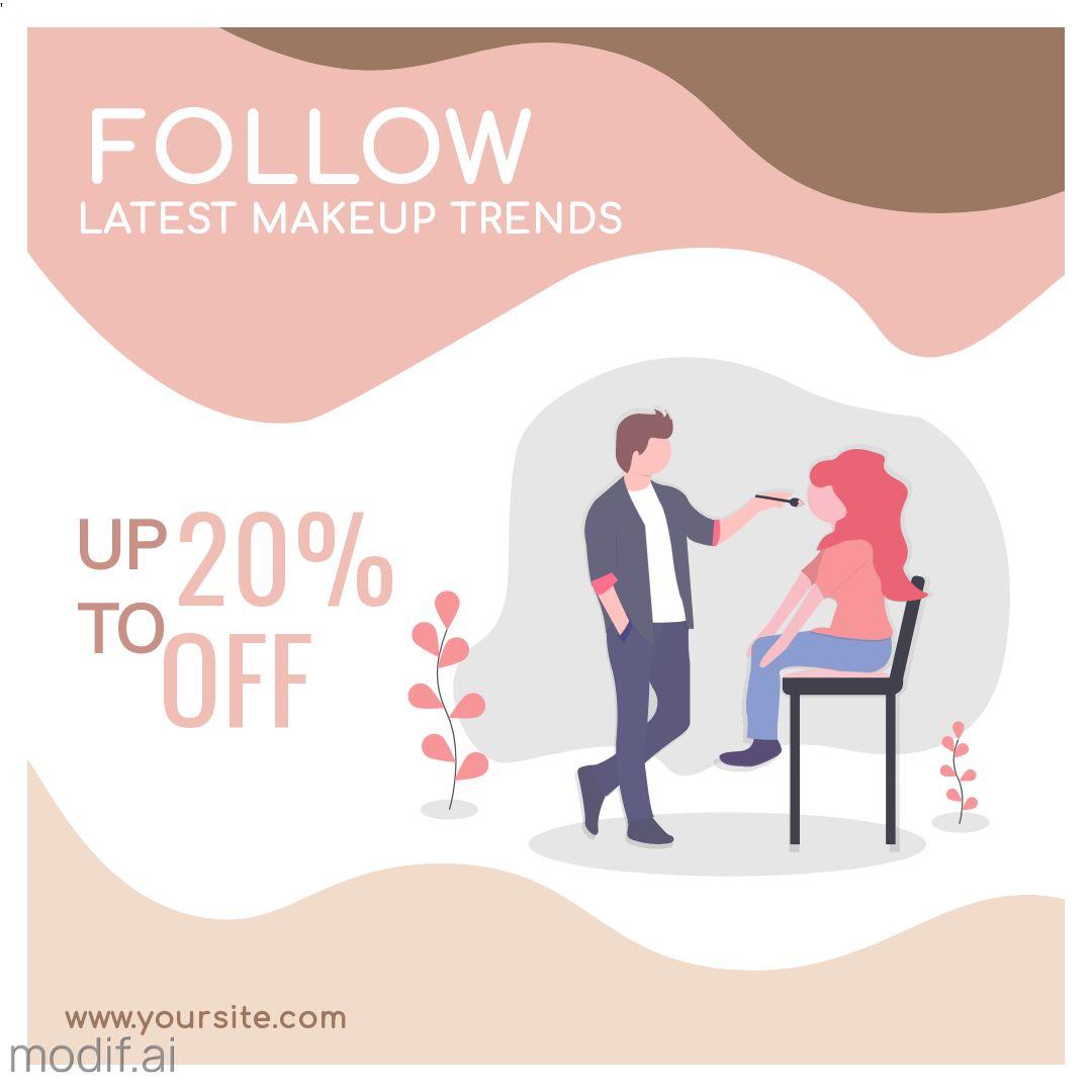 Makeup Service Instagram Post
