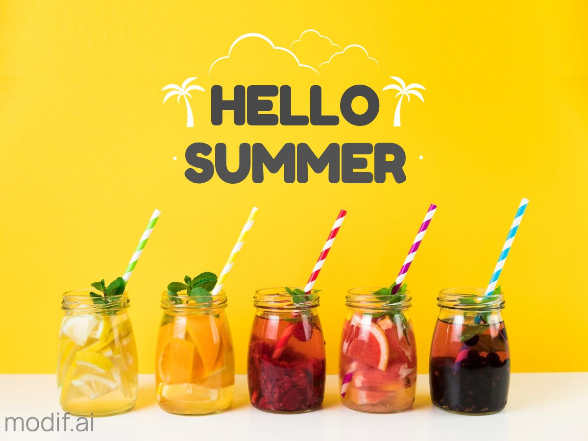 Hello Summer Facebook Post