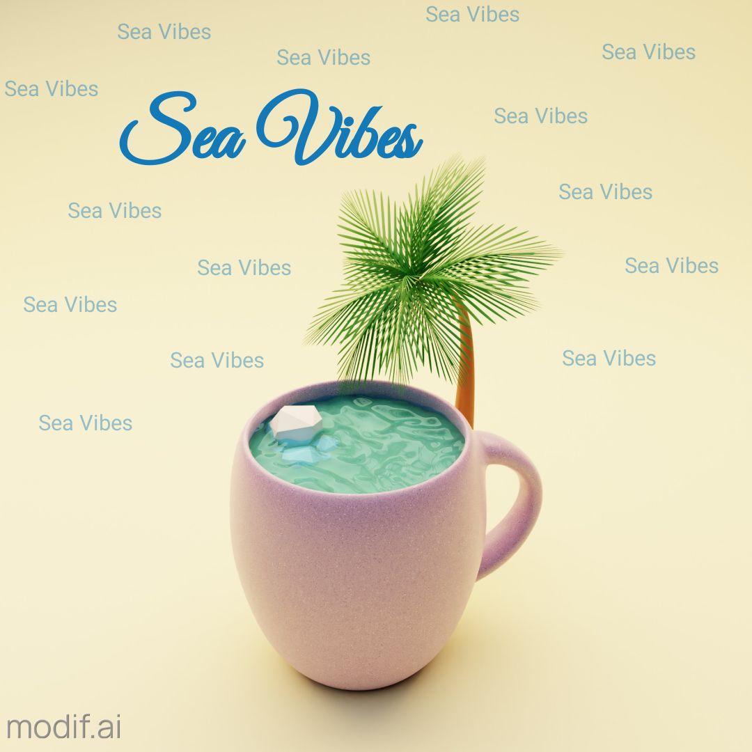 Sea Vibes Instagram Post
