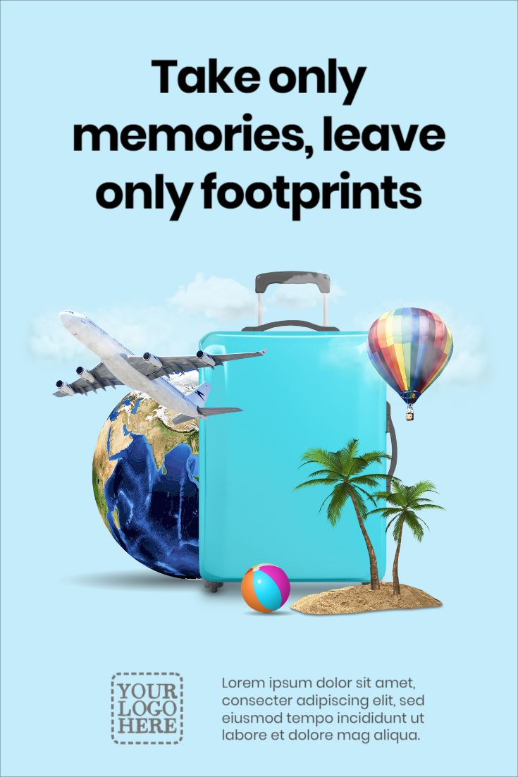Creative Traveling Flyer Template