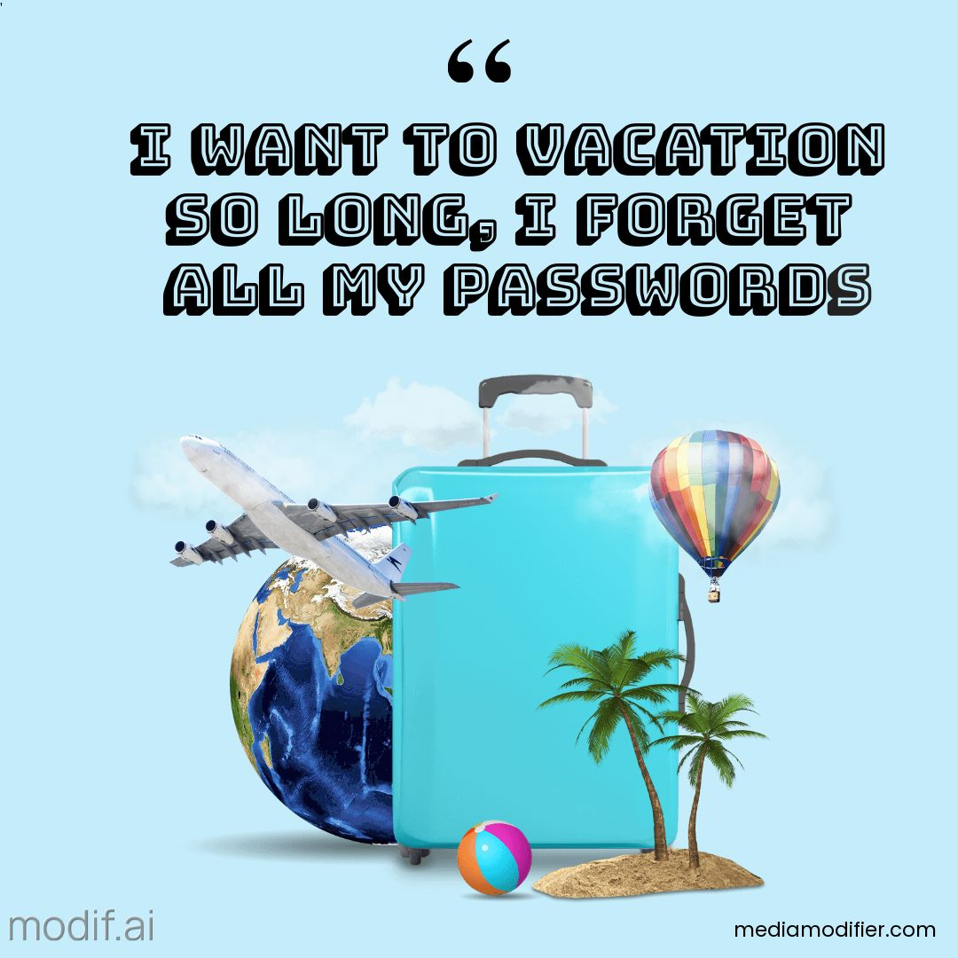 Vacation Quote Instagram Post Template