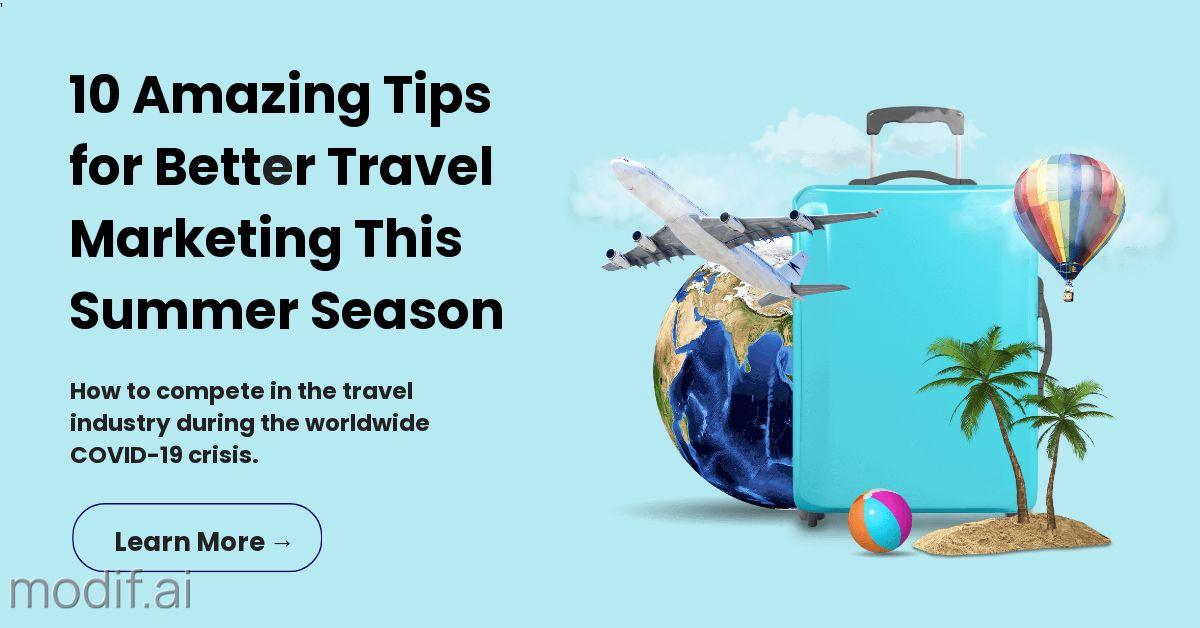 Travel Marketing Tips LinkedIn Post