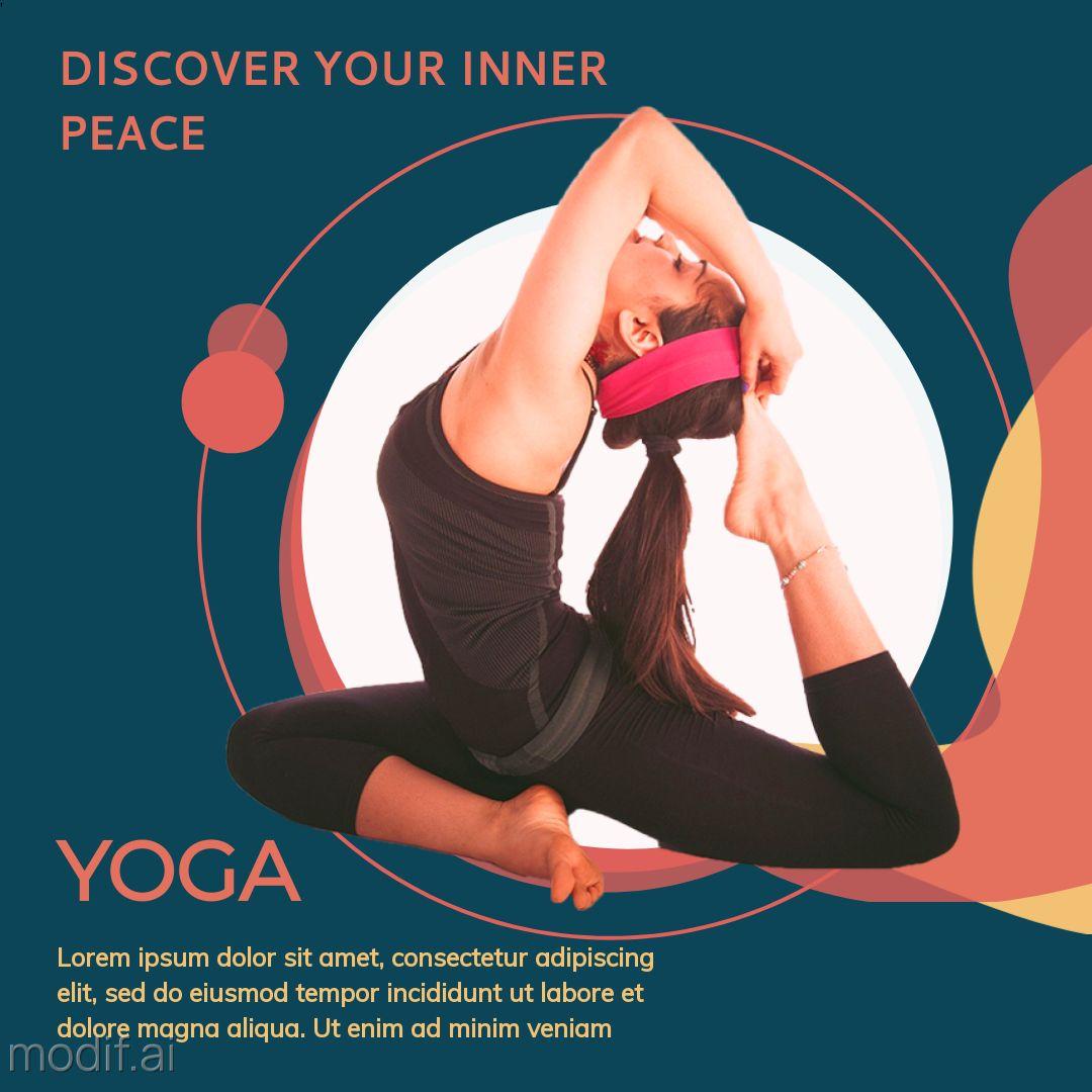 Yoga Instagram Post Template