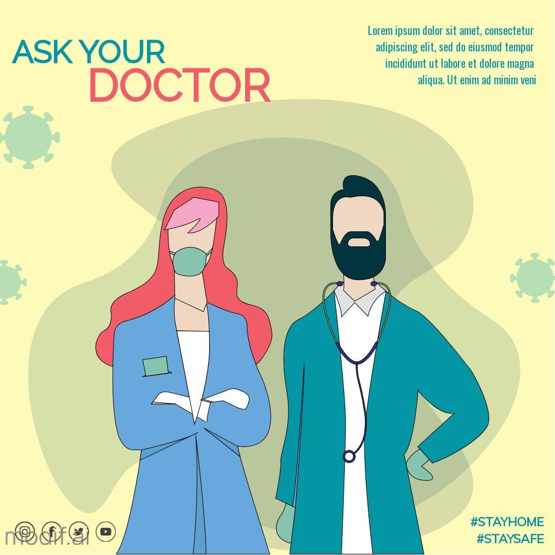 Ask Your Doctor Instagram Post