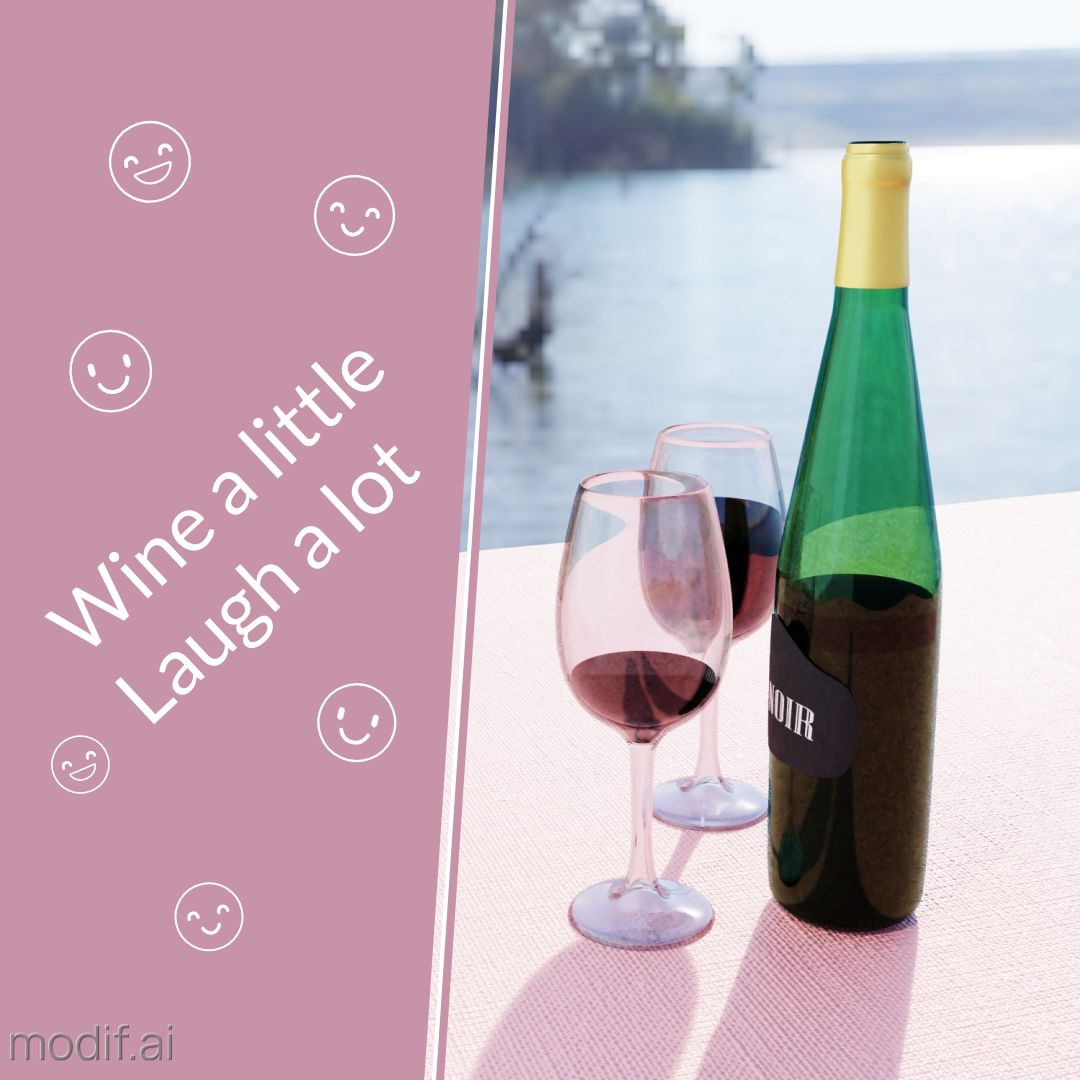 Summer Wine Instagram Post
