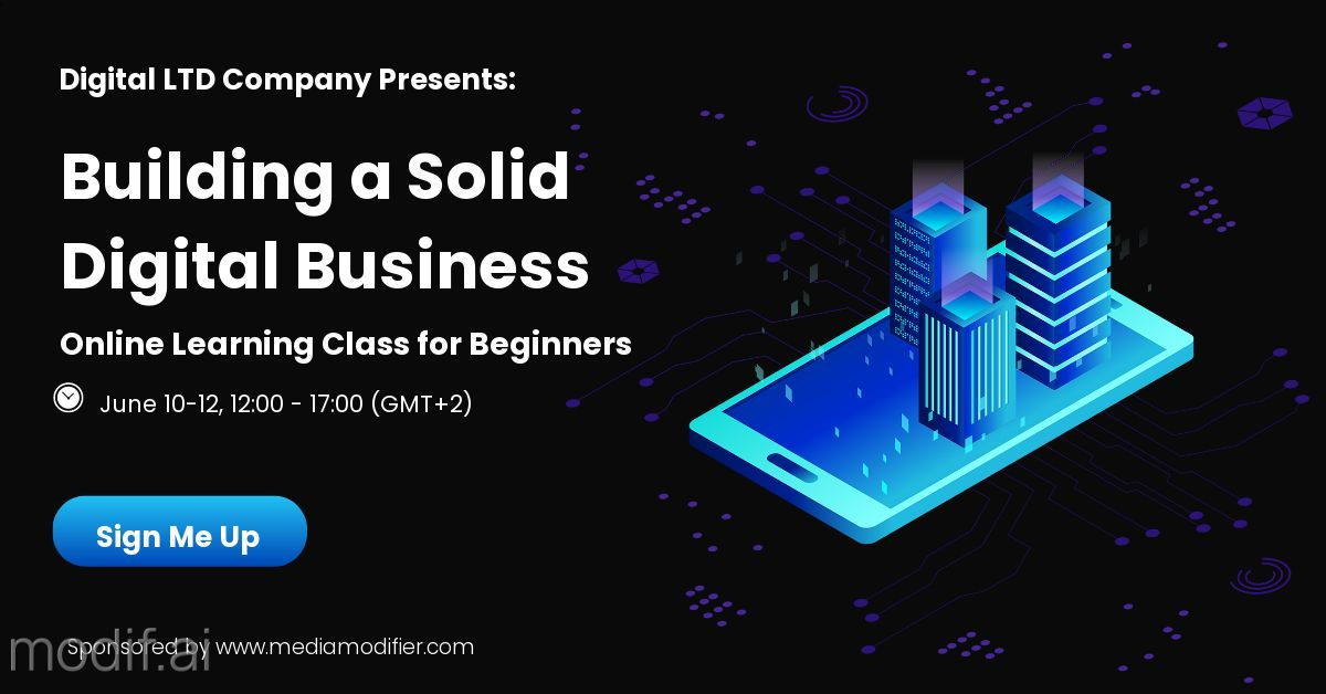 Digital Business Course LinkedIn Post