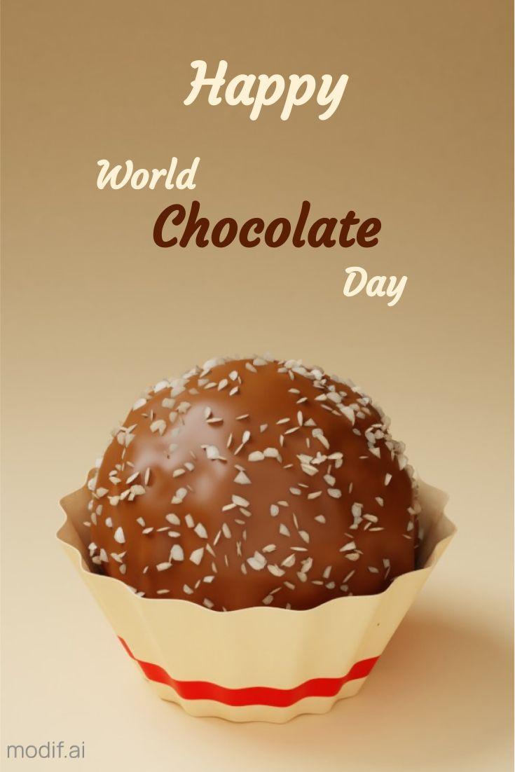 World Chocolate Day Pinterest Pin