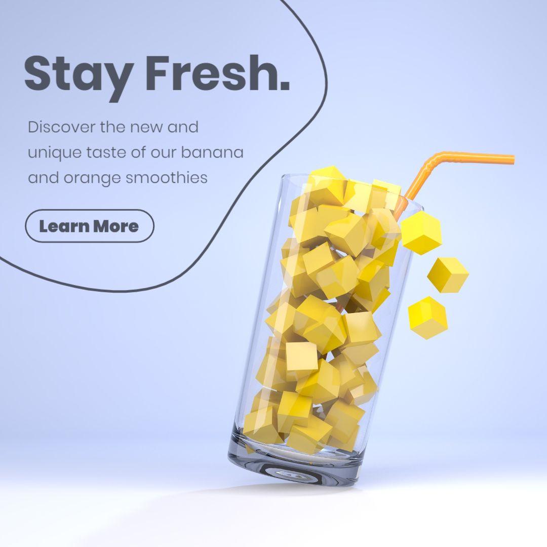 Fresh Creative Ideas Facebook Post