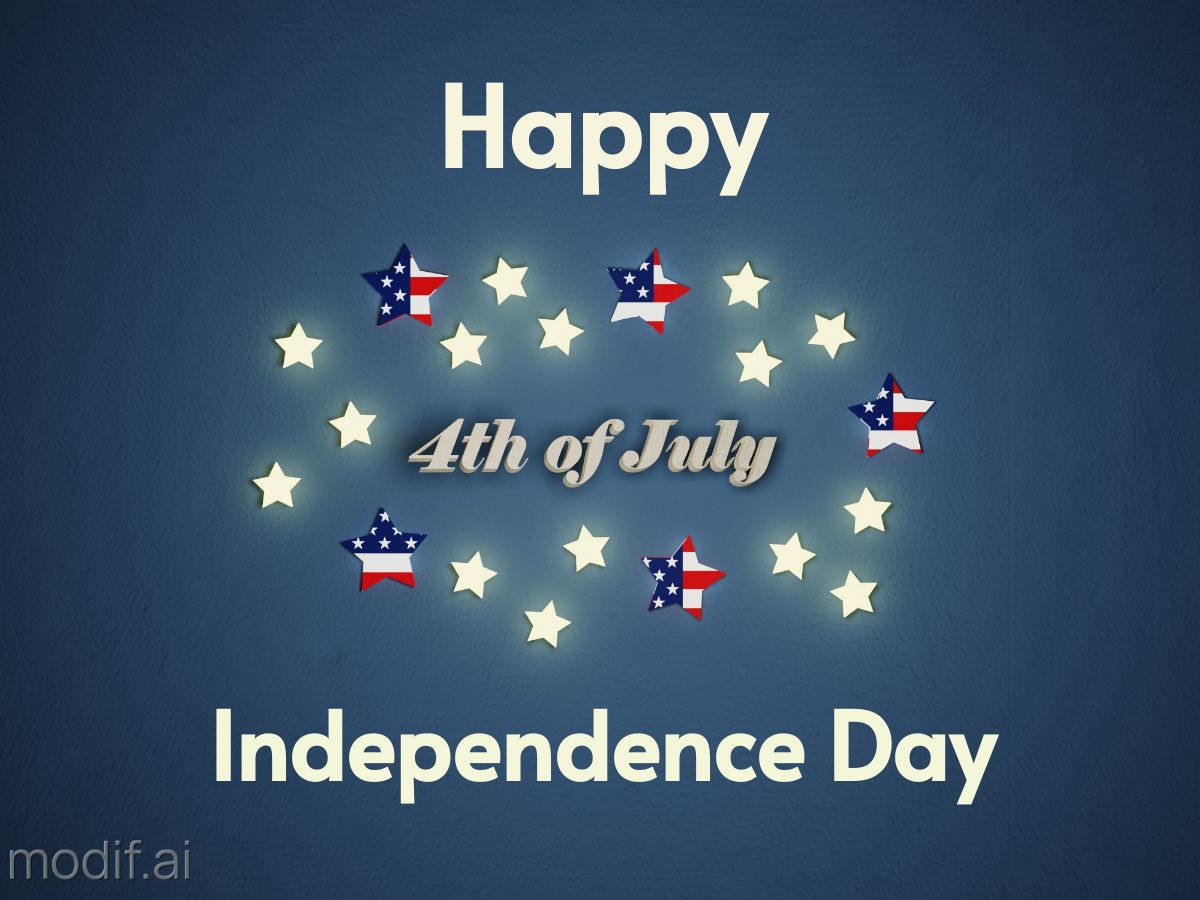 Independence Day Greeting Facebook Post