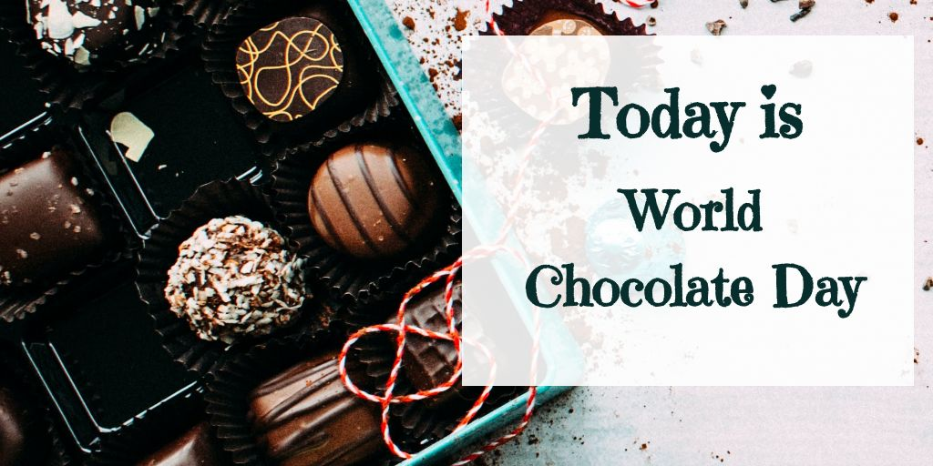 World Chocolate Day Twitter Post