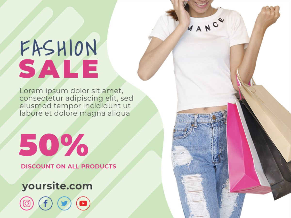 Fashion Discount Facebook Post