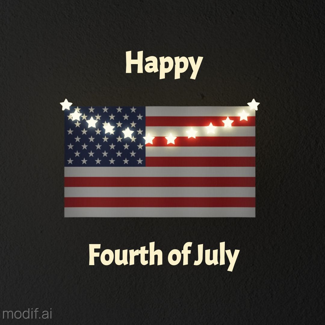 Fourth of July Instagram Post
