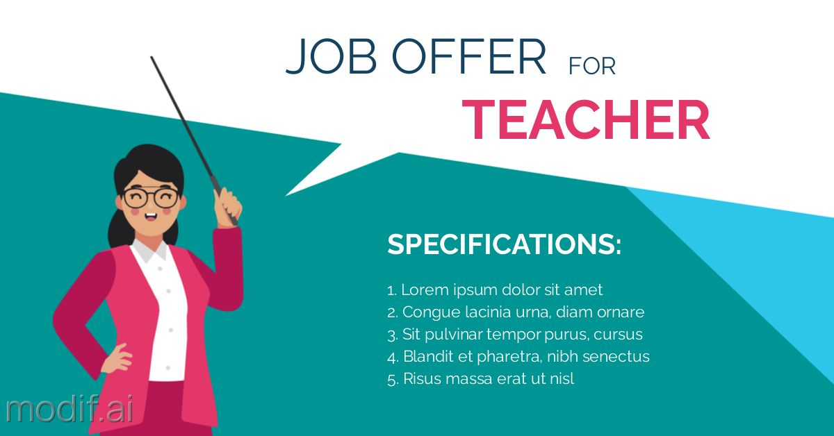 Teacher Job Offer LinkedIn Post