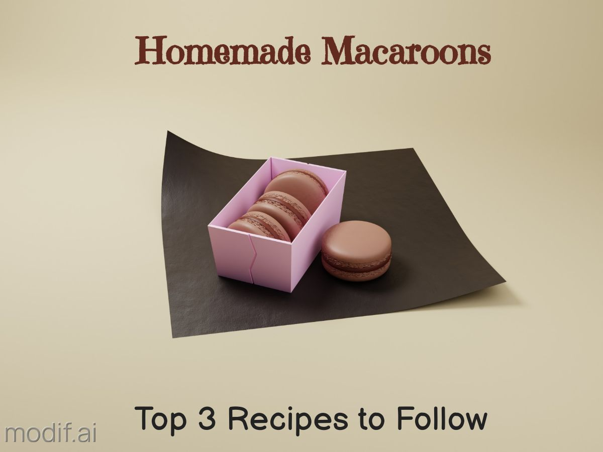 Chocolate Macaroons Facebook Post