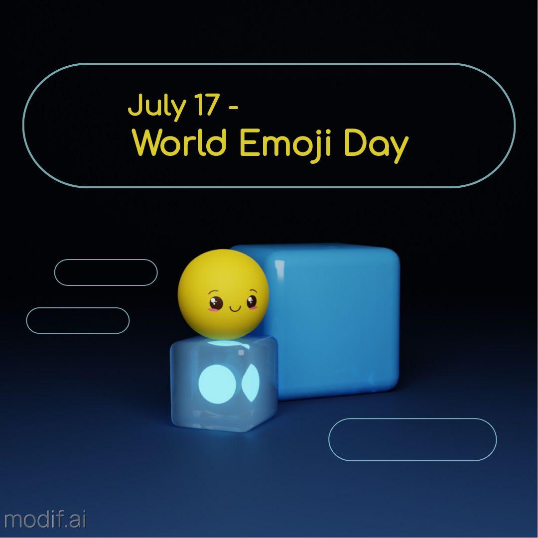 World Emoji Day Instagram Post