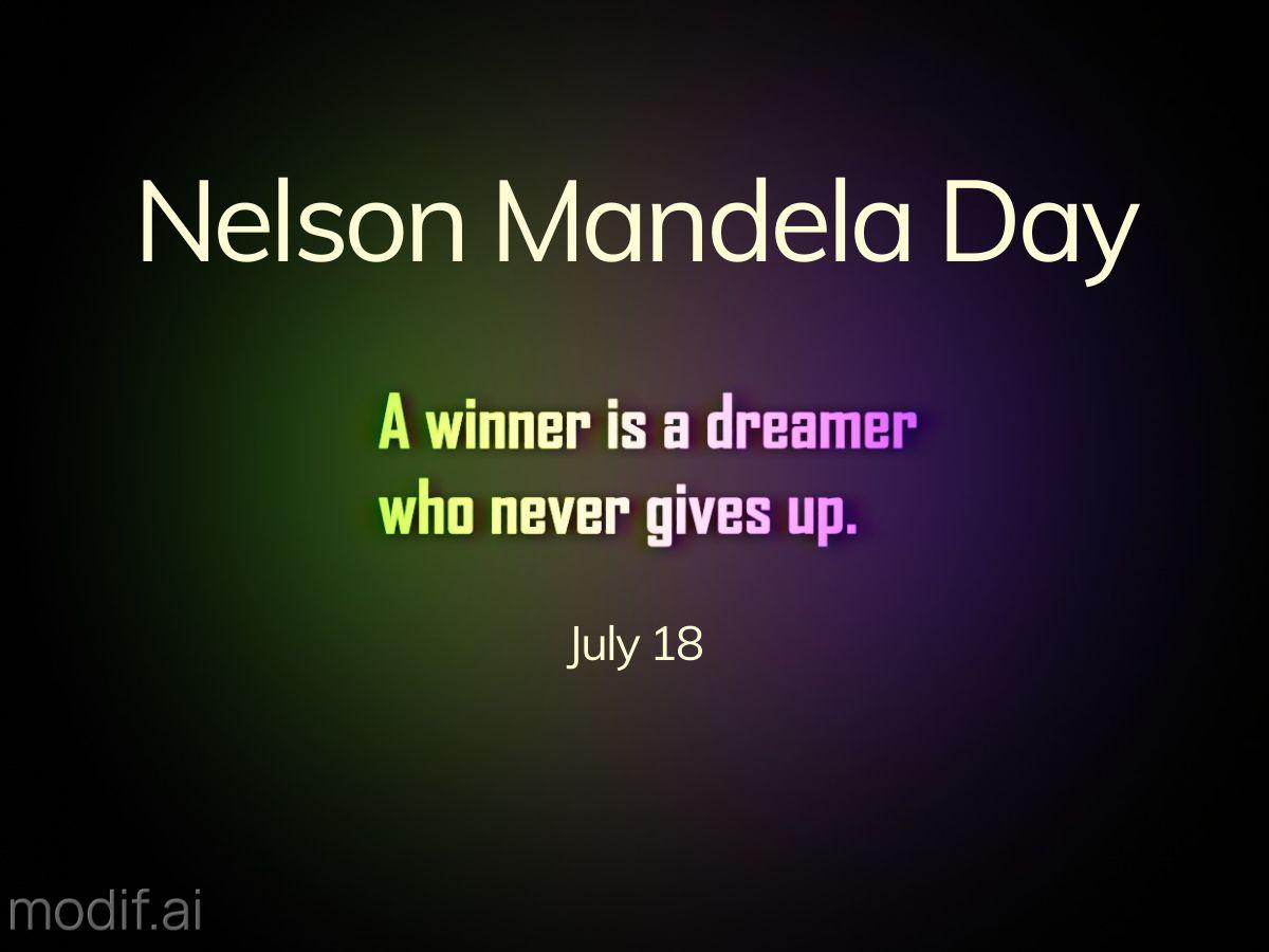 Nelson Mandela Quote Facebook Post