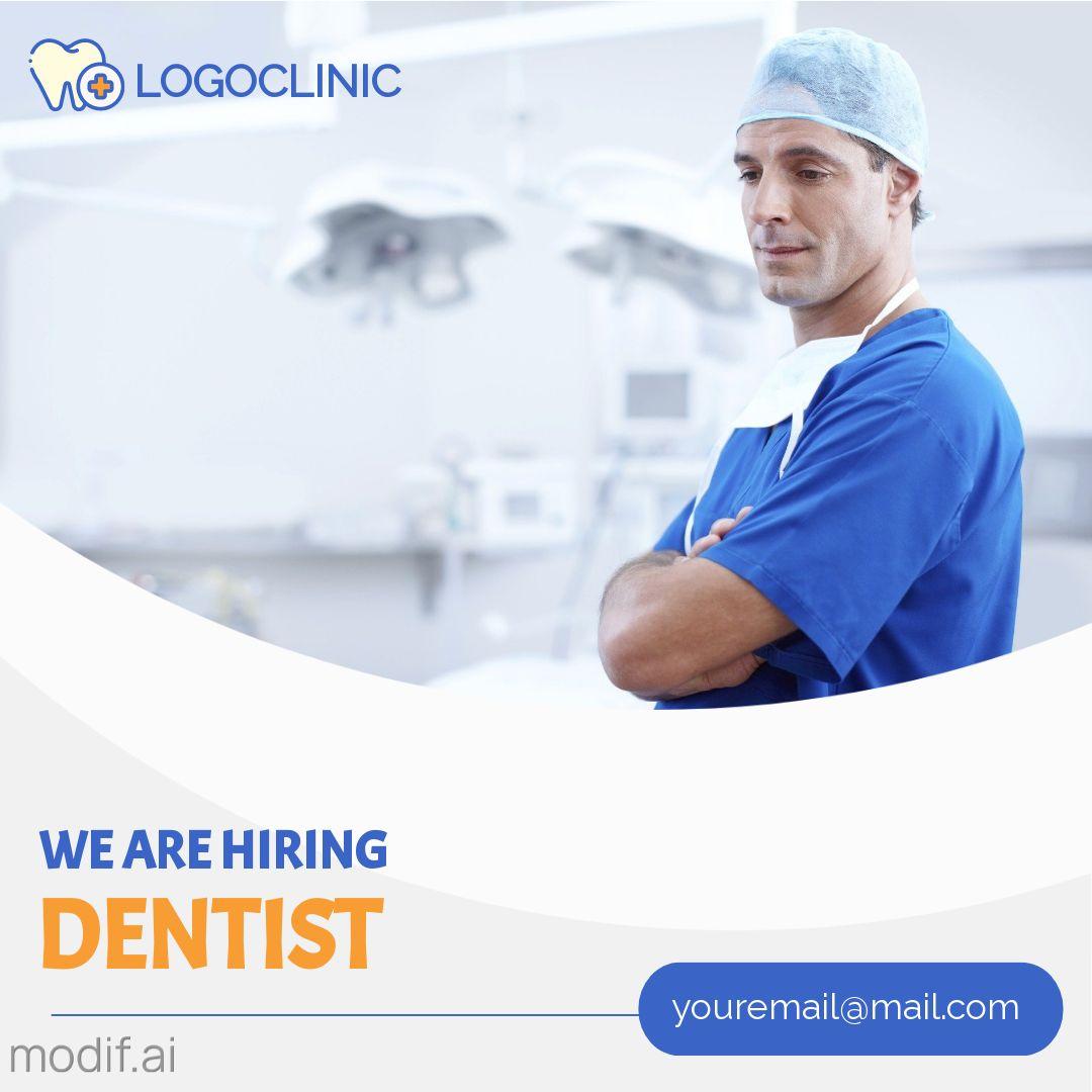 We are Hiring Dentist Instagram Post