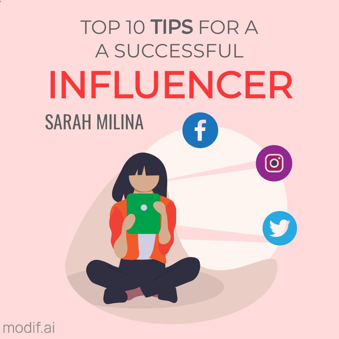 Influencer Tips Instagram Post Maker