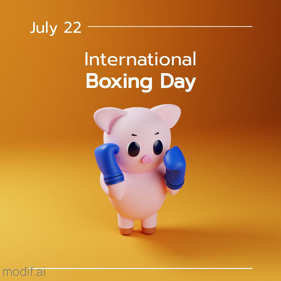 Boxing Day with Piglet Inastagram Post