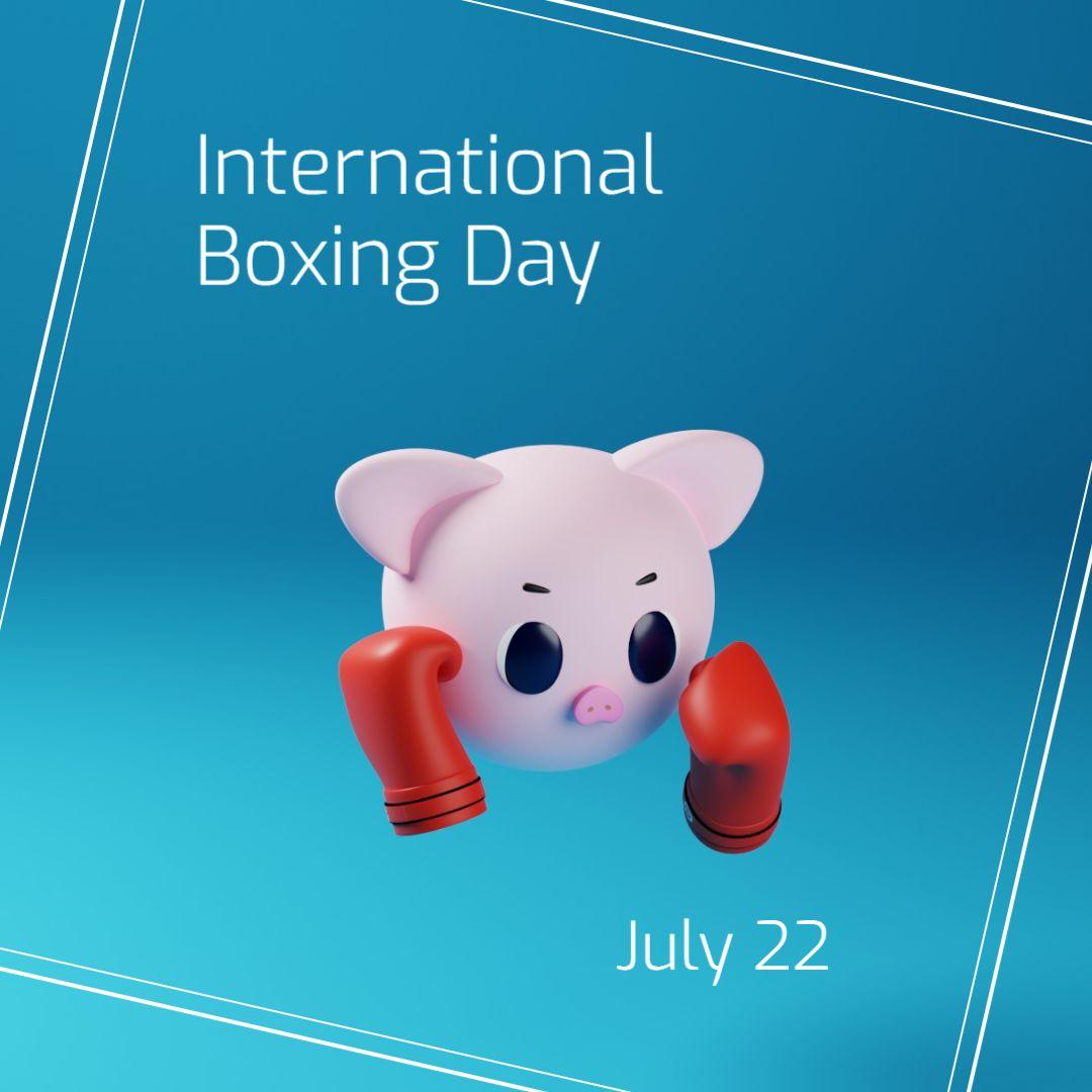 International Boxing Day Instagram Post