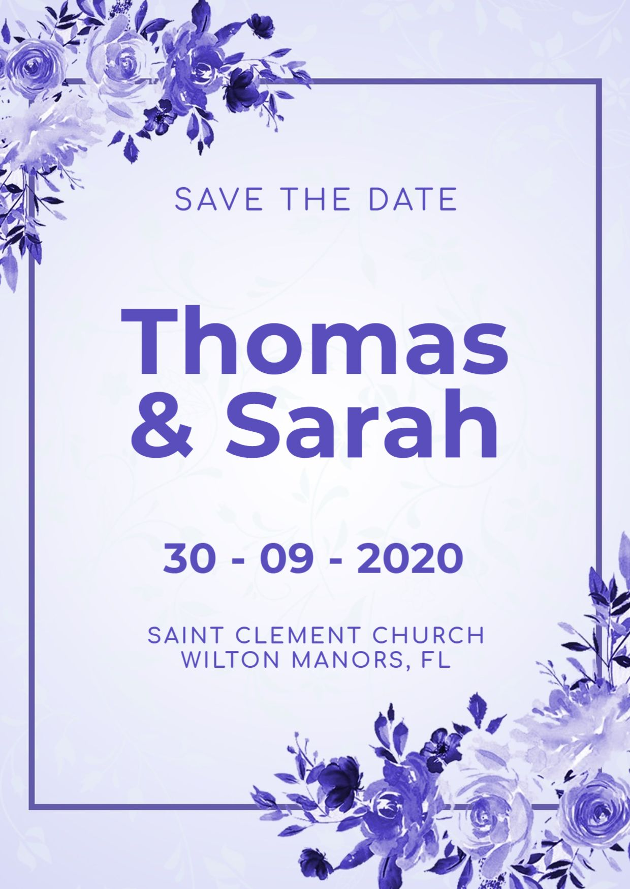 Beautiful Wedding Invitation Design