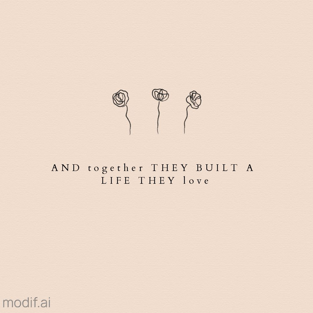 Romantic Marriage Quote Instagram Post Template