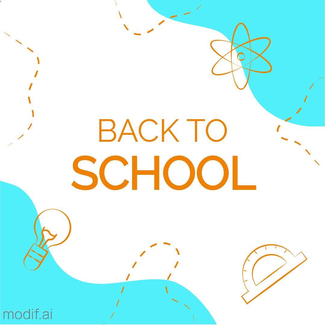 Back to School Instagram Post