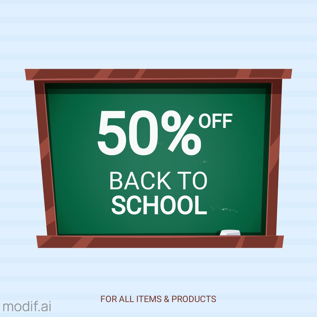 Big Sale for School Items
