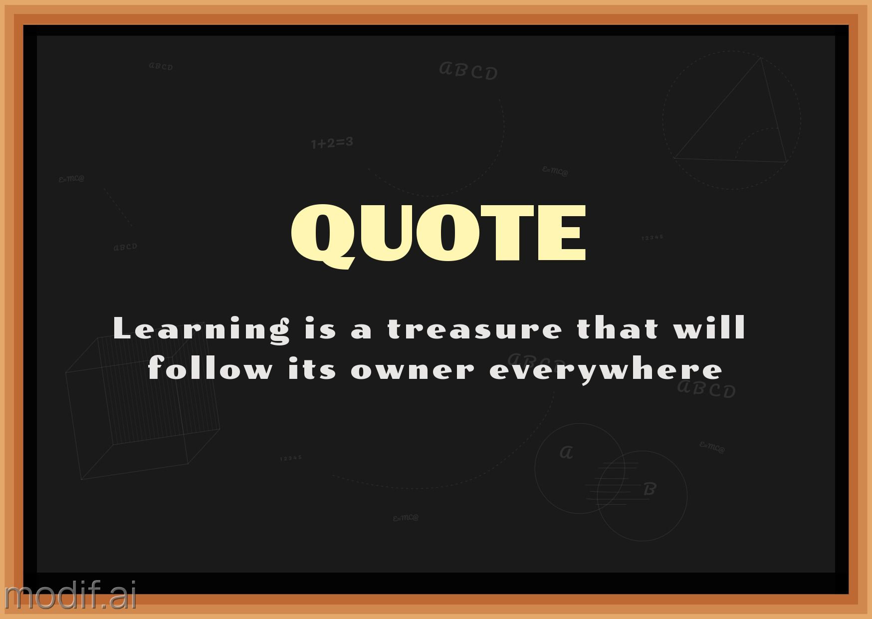 Quote About School and Learning