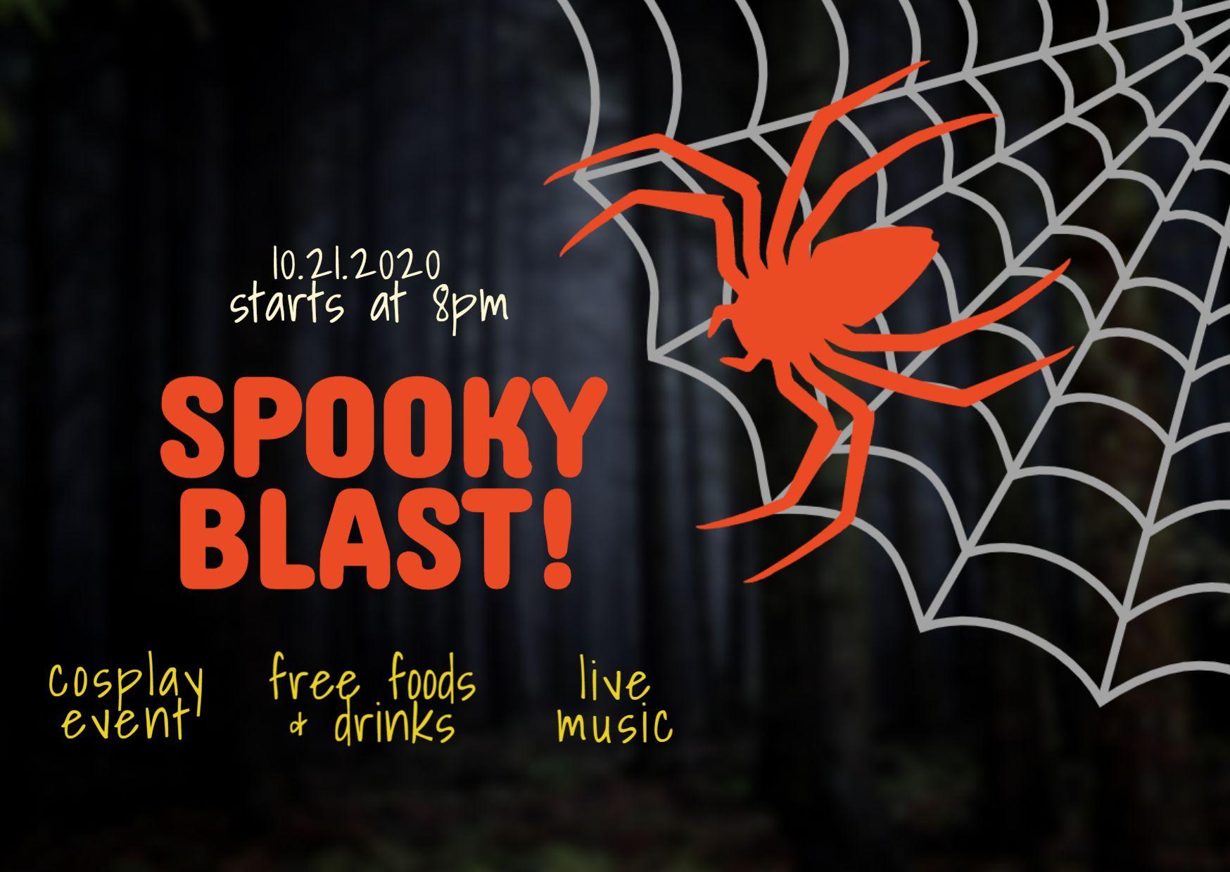 Spooky Blast Halloween Event Template