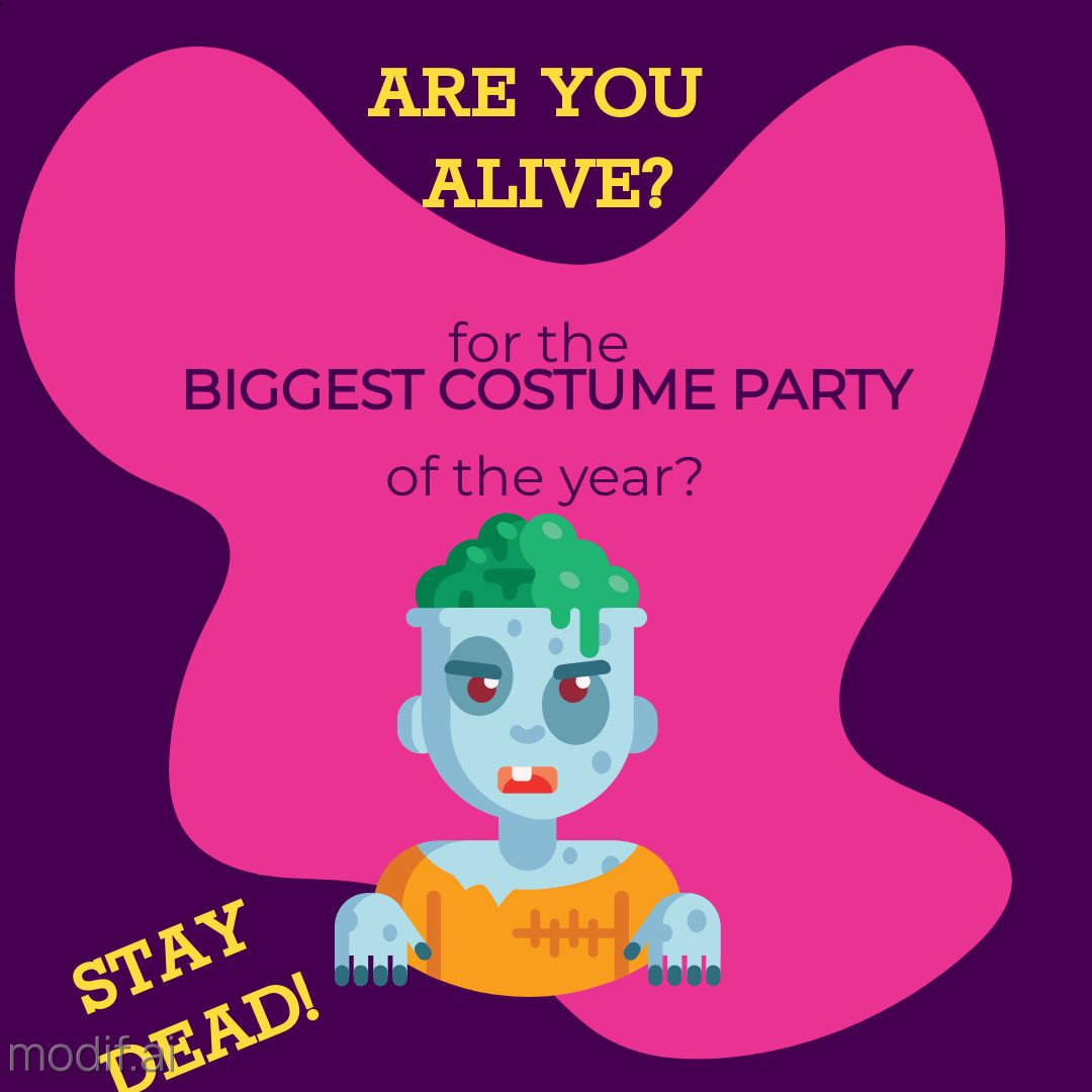 Halloween Party Teaser Template