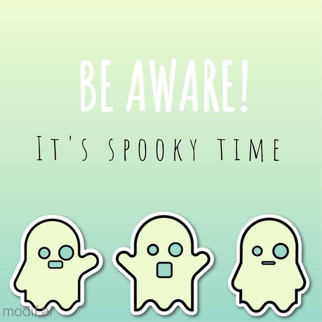 Halloween Ghosts Instagram Post Template
