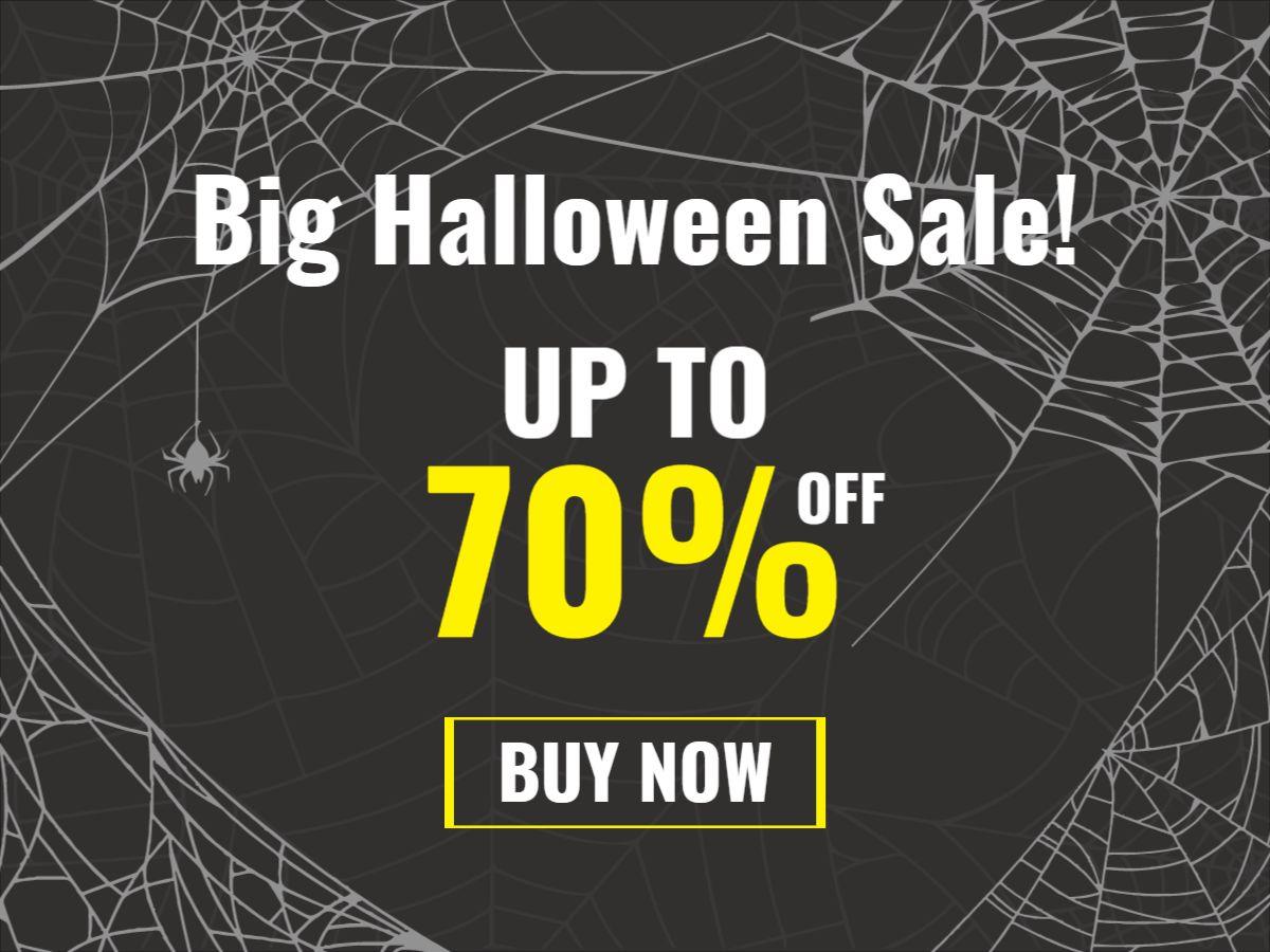 Halloween Sale Facebook Post