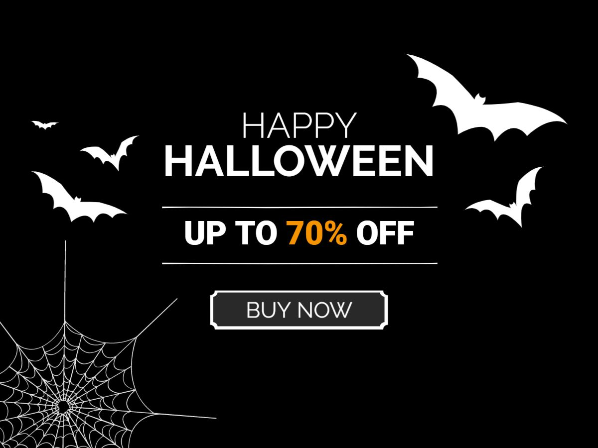 Halloween Discount Offer Facebook Post