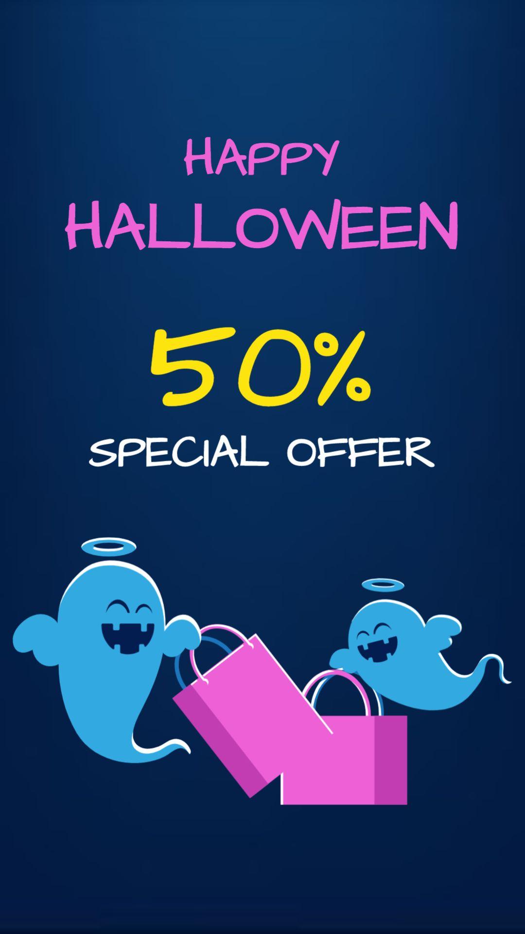 Happy Halloween! Post about Halloween Discount.