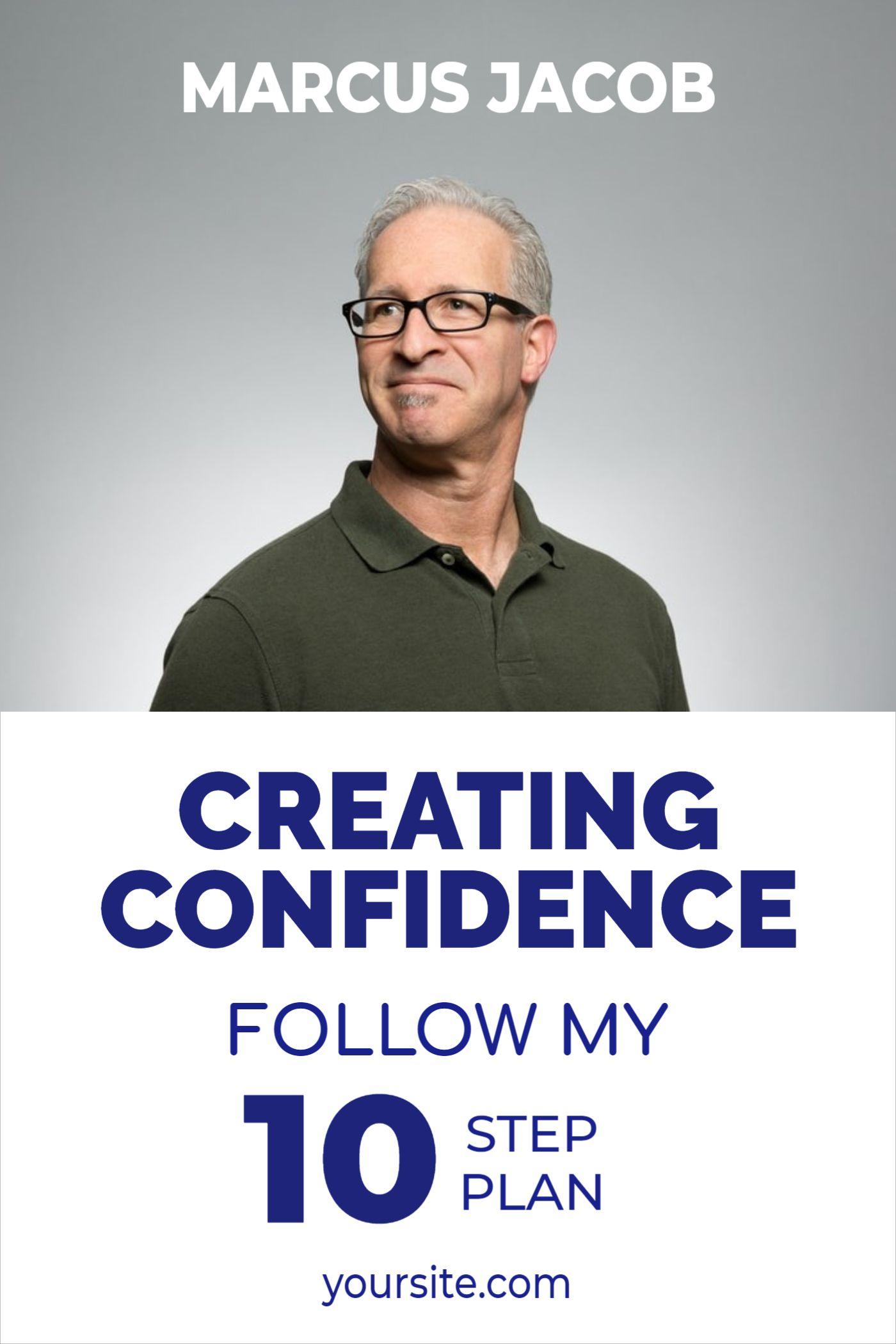 Confident Businessman Book Cover