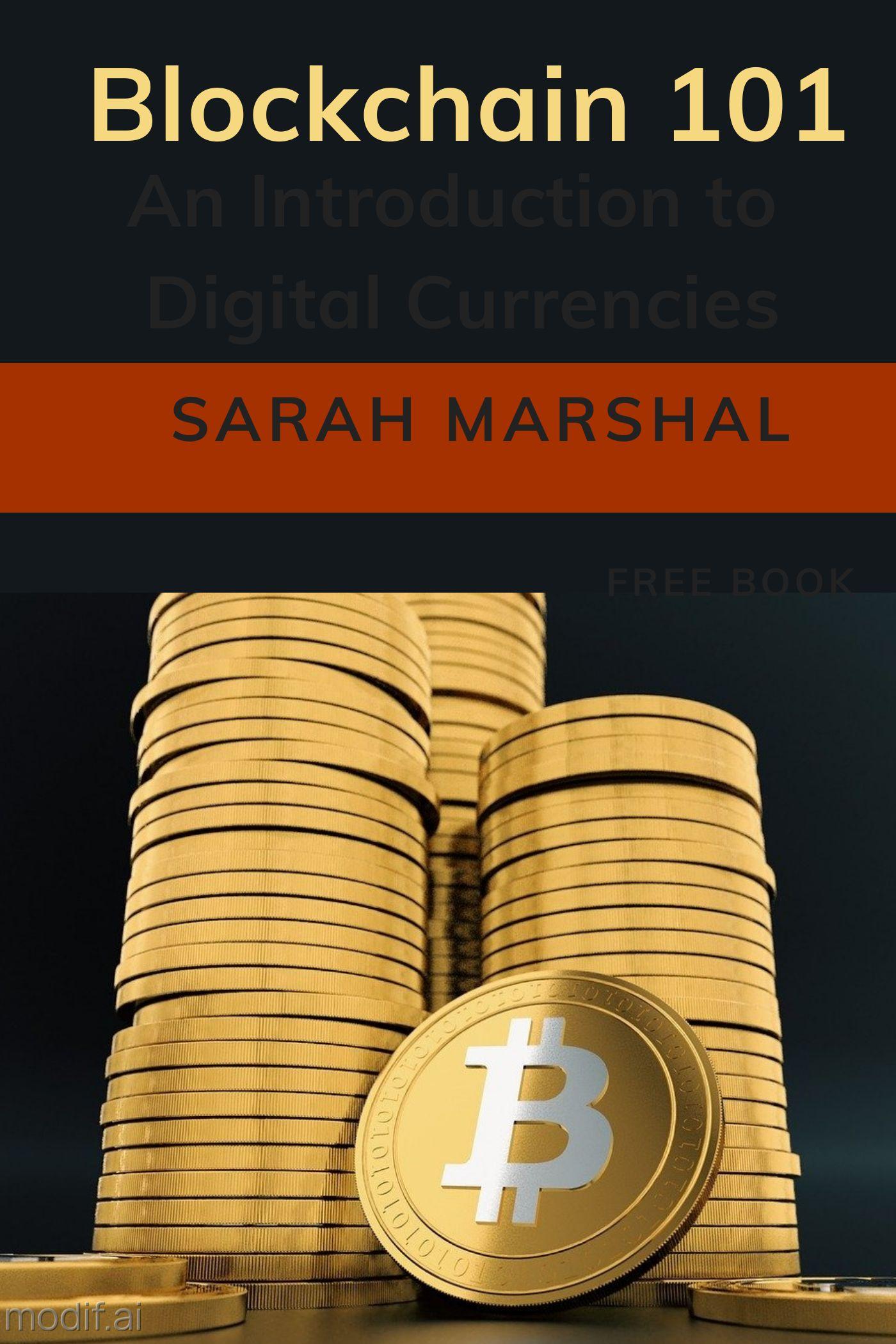 Bitcoin Blockchain Book Cover Design