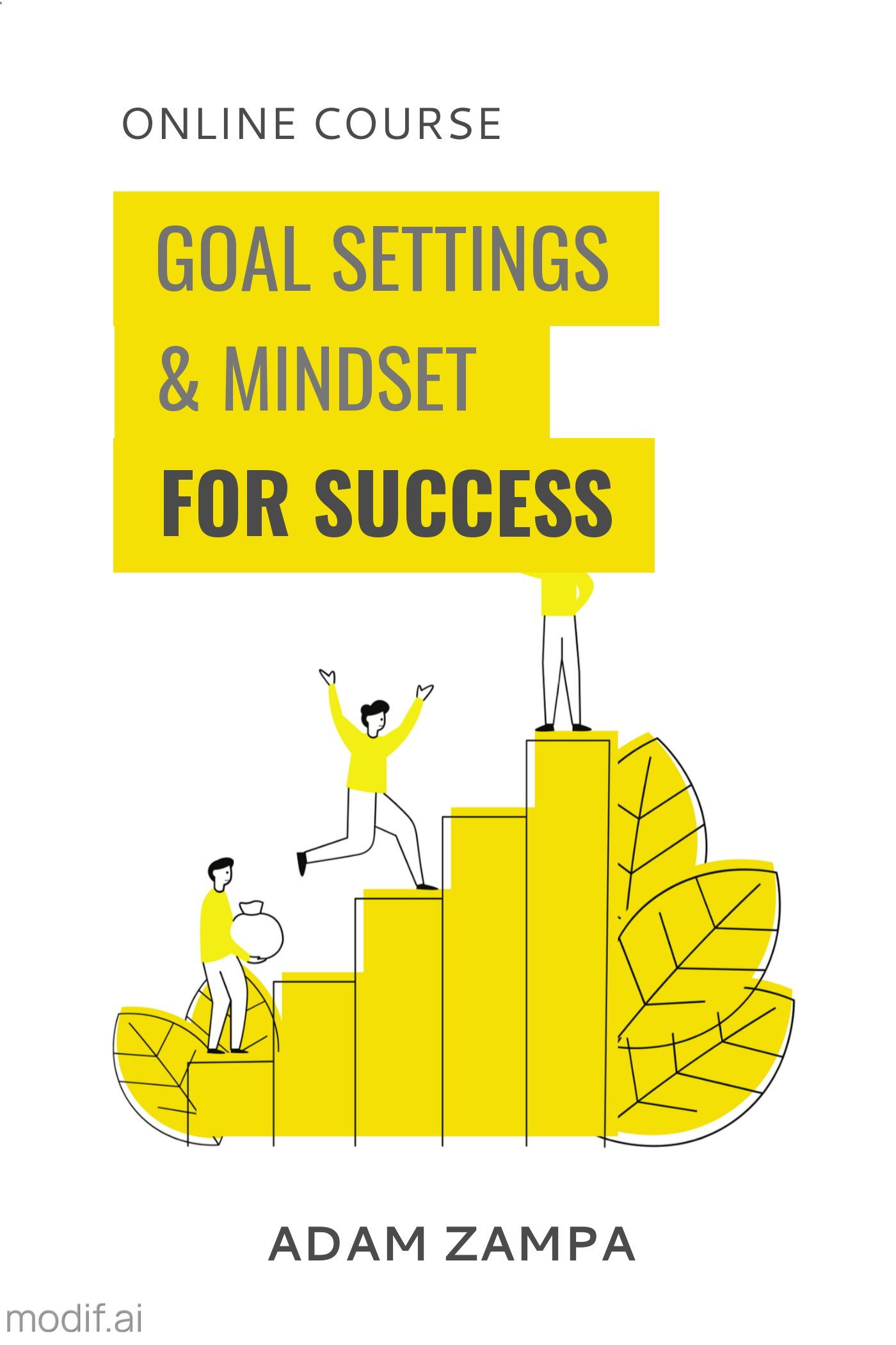 Success and Goals Book Cover Design