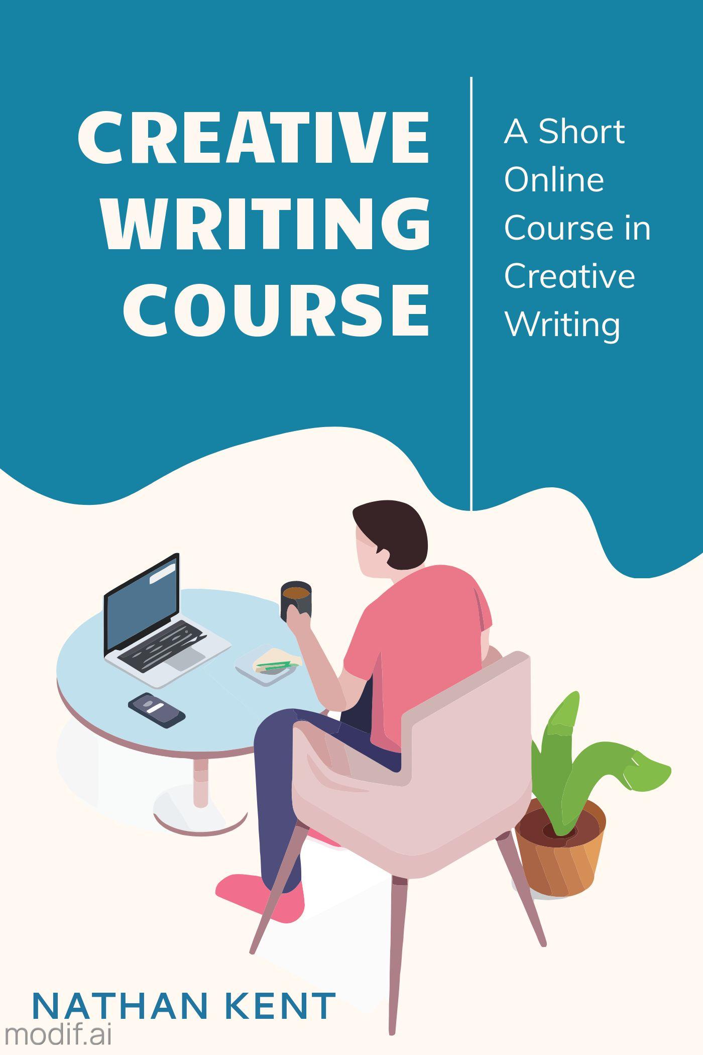 Creative Writing Book Cover Design