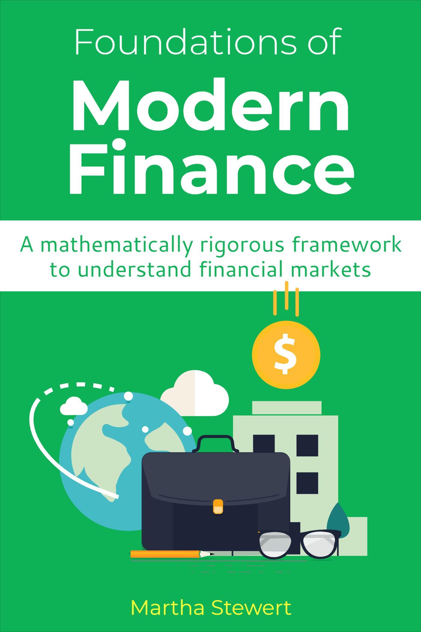 Modern Finance Book Cover Design