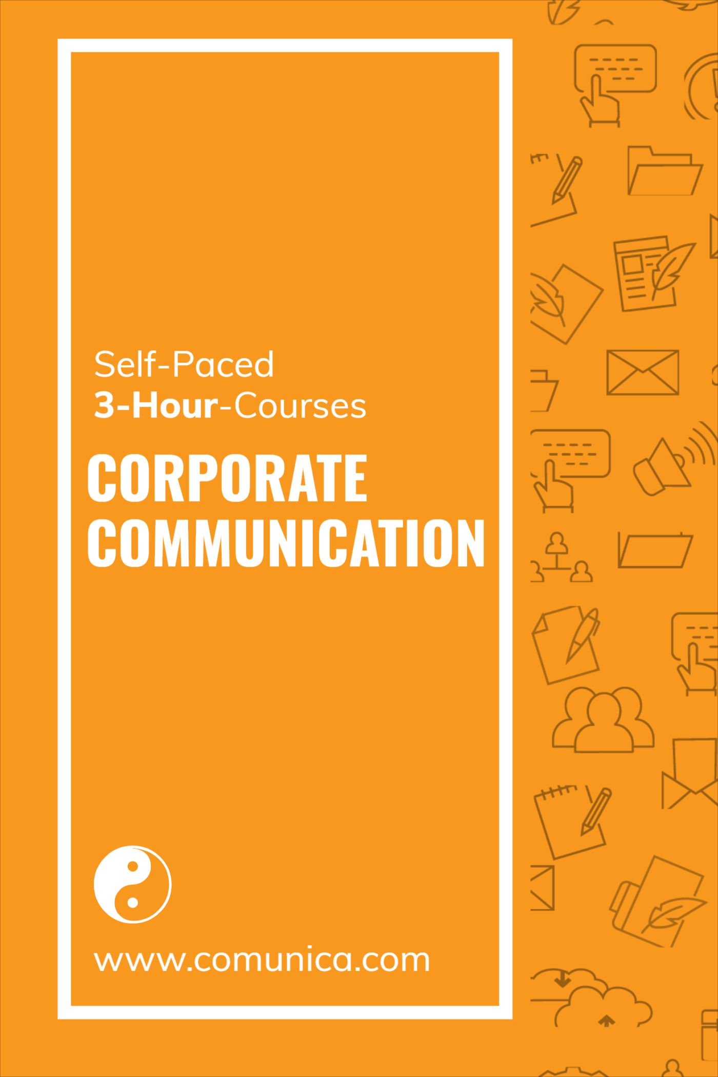 Corporate Communication Online Course Template