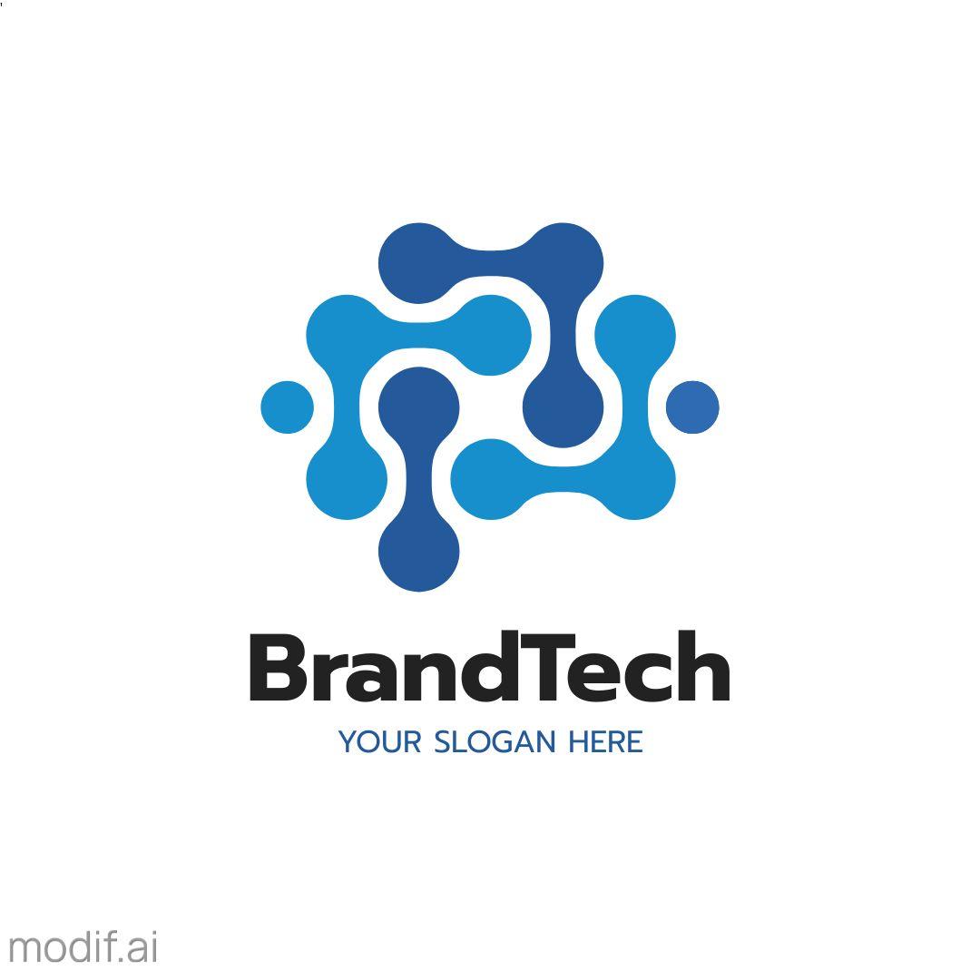 Technology Logo Design Template