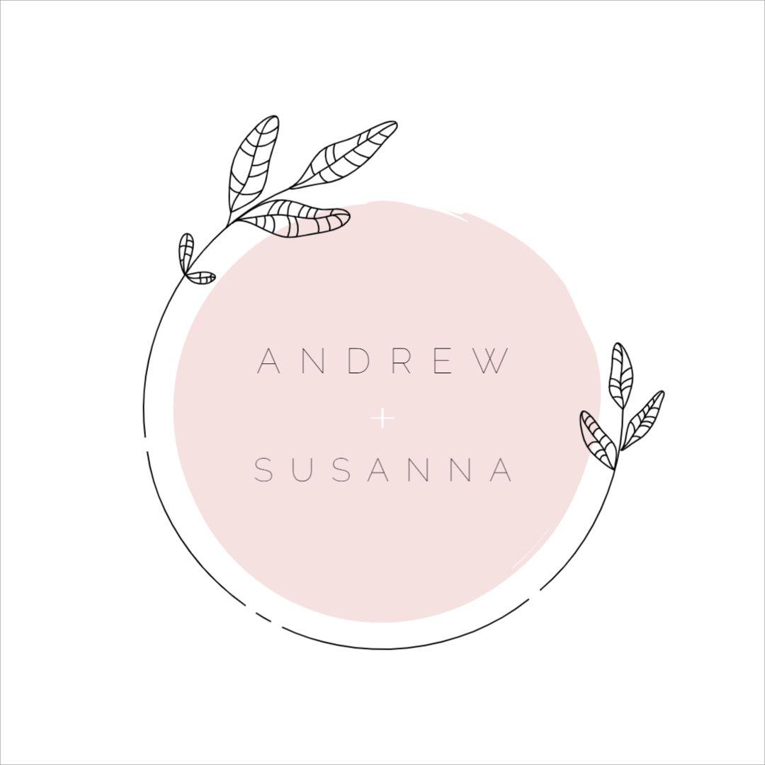 Wedding Couple Logo Template