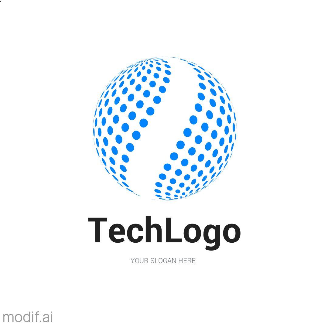 Tech Logo Design Template