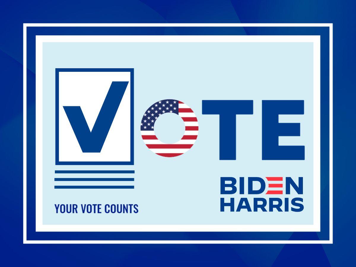Biden 2020 Election Facebook Template