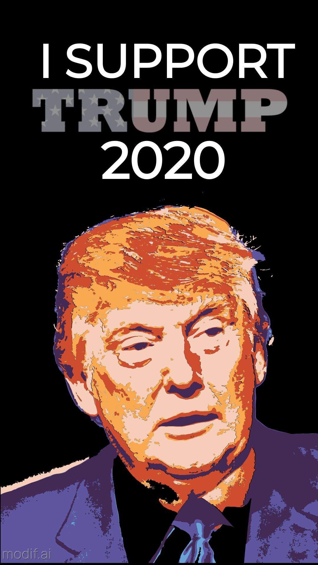 Trump 2020 Campaign Instagram Story Template
