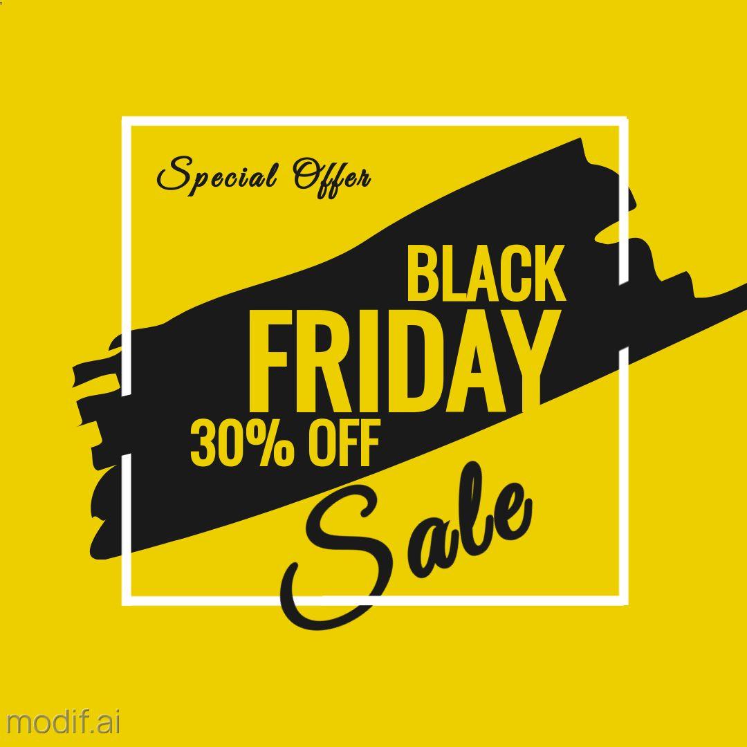 Black Friday Special Offer Instagram Template