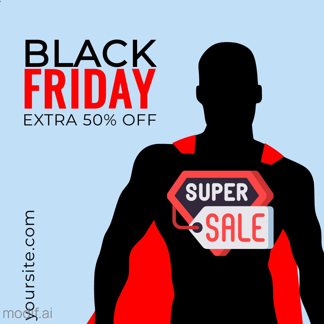 Black Friday Discount Offer Instagram Template